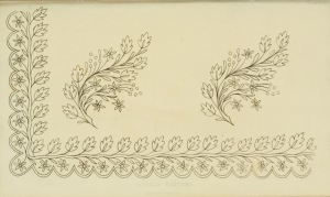 1826 Regency Needlework Pattern 6 June 1826
